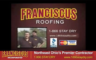 Storms can cause tremendous damage to roofs!.